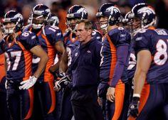 Denver Broncos uniform.