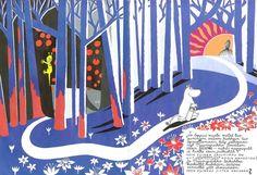 Moomin, by Tove Jansson Tove Jansson, Art For Art Sake, Beautiful Drawings, Little My, Childrens Books, The Book, Design Art, Illustration Art, Book Illustrations