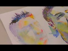 """""""Spiky Boy"""" Second study demo watercolor - YouTube"""