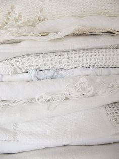 dottie angel: a bit of tartan, some good fortune, perhaps a smidgen of snow and a little thanks. All White, Pure White, Cream White, White Lace, Dottie Angel, Linens And Lace, White Linens, White Cottage, Shades Of White