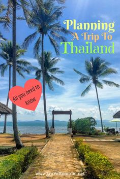 How to plan a trip to Thailand? Let me guide you through the steps of making your first big trip to Thailand a success. All you need to know from transportation, costs, when to go and where to go in Thailand.