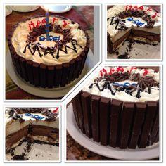 Oreo peanut butter ice cream cake