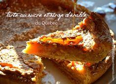 Tarte-au-sucre-et-sirop-d'érable-du-Québec Meatloaf, Food Inspiration, Baked Potato, French Toast, Mille, Baking, Breakfast, Ethnic Recipes, Classic Desserts