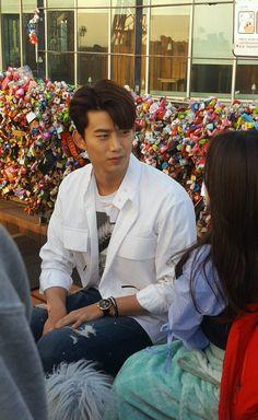 Touching You date Taecyeon, Touching You, Korean Drama, Dating, Coat, Fashion, Moda, Quotes, Sewing Coat