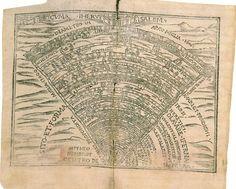 Synthesis of Hell, Purgatory and Paradise (Divine Comedy 1564) - Síntesi de l'Infern, Purgatori i Paradís (Divina Comèdia 1564)