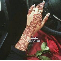 Henna Hand 💕 💅🏻 shared by Naina on We Heart It Khafif Mehndi Design, Floral Henna Designs, Mehndi Designs For Girls, Mehndi Design Pictures, Bridal Henna Designs, Mehndi Designs For Fingers, Latest Mehndi Designs, Mehndi Designs For Hands, Mehndi Images