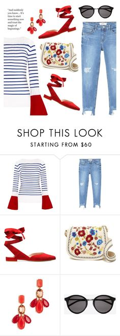 """""""Outfit of the Day"""" by dressedbyrose on Polyvore featuring MANGO, Steve Madden, Kate Spade, Yves Saint Laurent, ootd and polyvoreeditorial"""