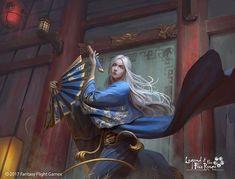 Doji Shigeru - Legend of the Five Rings - © 2017 Fantasy Flight Games - ART by Asep Ariyanto - Illustrator Character Concept, Character Art, Concept Art, Character Design, Fantasy Characters, Female Characters, L5r, Fantasy Artwork, Japanese Art