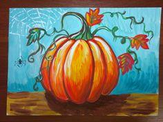 Art Lessons For Kids, Art Lessons Elementary, Art For Kids, Kids Art Galleries, Wine And Canvas, Pumpkin Art, Autumn Art, Art Classroom, Halloween Art