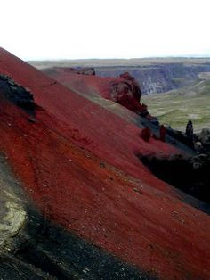 Iceland: Vesturdalur, the Red Hills