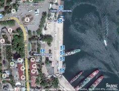 Le port de Sébastopol et de la zone douanière | Placez-le sur la carte du monde