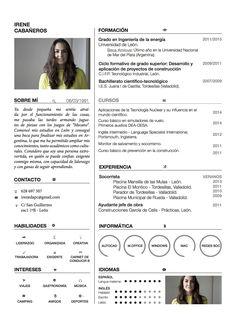Curriculums creativos - Maria Aguado Más