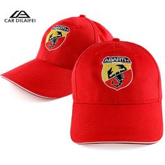 for Abarth Hat Cap Car Sline Logo Moto Racing Baseball Cap Adjustable Casual Hat Logo Moto, Moto Racing, Interior Accessories, Baseball Cap, Hats, Casual, Fashion, Hat, Car