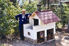 Smoke House Diy, Pizza Oven Outdoor, Indoor Outdoor, Outdoor Decor, Grilling, Pizza Ovens, Bird, Garden, Home Decor