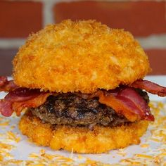 Ultimate Mac n Cheese Burger
