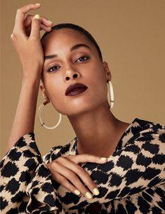 Cindy Bruna in Vogue Spain February 2019 by Felix Valiente Vogue Spain, Shell Earrings, Dangle Earrings, Tortoise Shell, Dangles, Drop Earrings