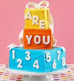 Pin to Win! Birthday Cakes Galore: Keep it Classic (via Parents.com)