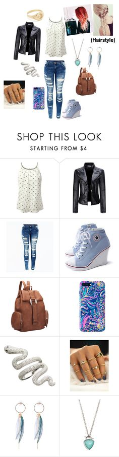 """Alien book"" by isabelle-923 on Polyvore featuring WithChic, Dasein, Lilly Pulitzer, Vera Bradley and Jacquie Aiche"