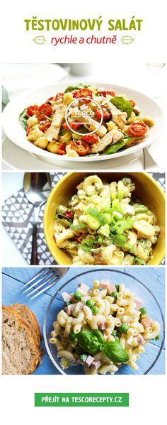Pochutnejte si na vynikajícím těstovinovém salátu!