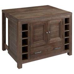 Barnside Kitchen Island Wood/Brown - Home Styles : Target