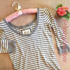 """A&F Top Has wear to it. Pilling around armpit area ect. No major flaws. 17"""" wide and 26"""" long. Abercrombie & Fitch Tops Blouses"""