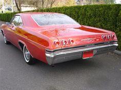 65 Chevy Impala SS (rear view)