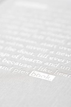 Zync Journal #white foil on #linen. book cover