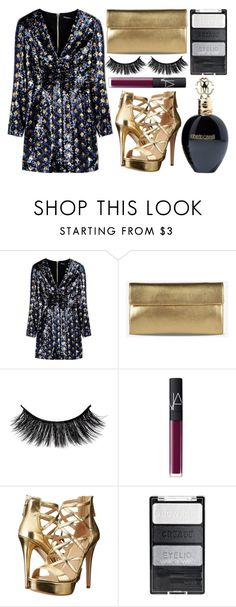 """street style"" by sisaez ❤ liked on Polyvore featuring Balmain, Maison Margiela, NARS Cosmetics, GUESS and Roberto Cavalli"