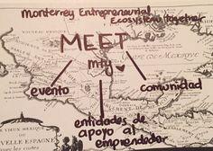 MEET Monterrey, evento para emprendedores en comunidad, mapeo