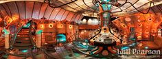 Doctor Who: Inside the Tardis in 360 Degrees
