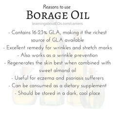 Grapeseed as Carrier Oil Essential Oil Carrier Oils, Essential Oils 101, Essential Oil Blends, Young Living Oils, Young Living Essential Oils, Borage Oil, Oil Benefits, Oils For Skin, Natural Medicine