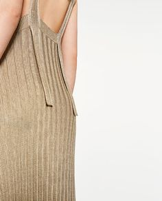 Image 5 of LIMITED EDITION GOLD-TONED DRESS from Zara