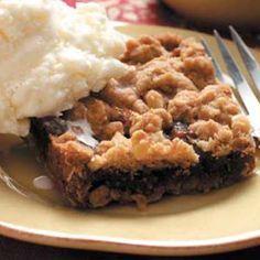 L'authentique...Carré aux dattes! #recette #dessert #carré #dattes #délicieux