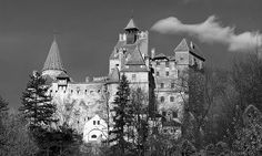 (Draculas) Bran Castle, Bran, Romania  #JetsetterCurator castles-chateaux-castiles