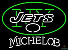 Michelob New York Jets Neon Sign NFL Teams Neon Light