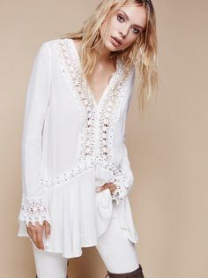 In the Shadows Tunic from Free People!