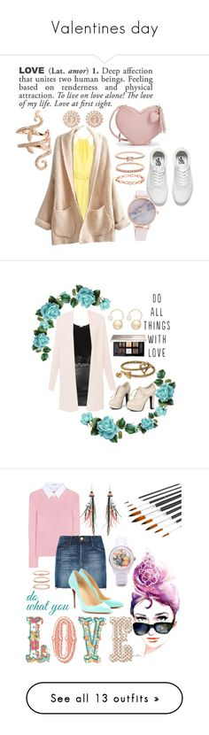 """""""Valentines day"""" by kathrynrose42 ❤ liked on Polyvore featuring ADZif, Vans, Nam Cho, WithChic, Accessorize, Elise Dray, Sidewalk, Equipment, Alex and Ani and Givenchy"""
