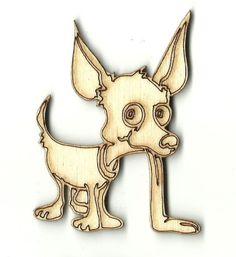 Dog - Laser Cut Wood Shape DOG54