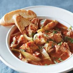 During Lent, the food may be simple, but it doesn't have to be boring: Simple Fish Bouillabaisse from @Williams-Sonoma, found at www.edamam.com.