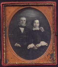 Photo by: Anonymous, USADate: c. 1850sType: 1/6 Plate Daguerreotype