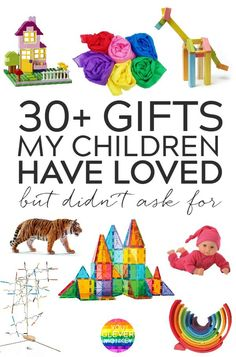 30 Gifts My Children Have Loved But Didn't Ask For - Our pick of the best open-ended toys to gift this Christmas that will not be gathering dusk by the end of January Best Toddler Toys, Toddler Gifts, Best Toys For Toddlers, Best Toys For Boys, Gifts For Toddlers, Cheap Toys For Kids, Creative Toys For Kids, Kids Diy, Non Toy Gifts