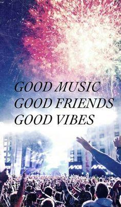 Ik hou van muziek, concerten en festivals.