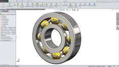 SolidWorks tutorial | Design And Assembly of Ball Bearing in SolidWorks ...
