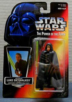 Luke Skywalker as Jedi Knight (Brown Vest) (Power of the Force)
