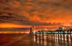 Lisboa à Noite em HDR