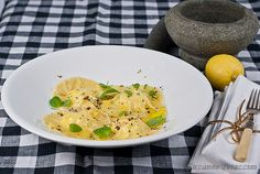 Ravioli with Goat's Cheese