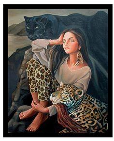 Jaguar Girl by Sami Edelstein