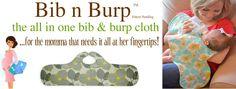 Bib & burp all in one! #mompact