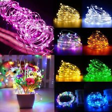 20//30//50//100 LED String Fairy Lights Copper Wire Battery Powered Waterproof