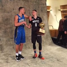 Aaron Gordon talking about 'the dunk' click the photo and you will be too!